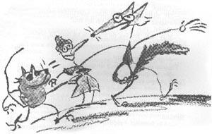 Ilustración de Nikolaus Heidelbach