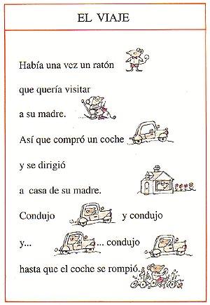 """Página 1 de """"El viaje"""""""