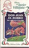 """Portada de """"Don Juan el Zorro"""""""