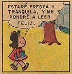 """Cuadro de """"La pequeña Lulú"""""""