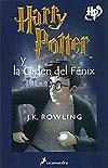 Portada de Harry Potter y la Orden del Fénix