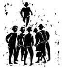 Dibujo de Sáulor (Oscar Rojas)