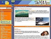 Página inicial de TamTam