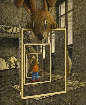 Dibujo de Jörg Müller
