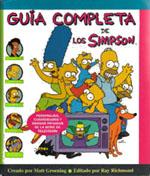 """Portada de """"Guía completa de los Simpson"""""""