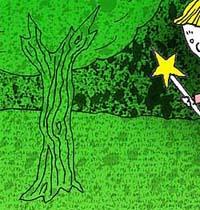 Fragmento de un dibujo de Alexiev Gandman