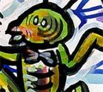 Fragmento de un dibujo de Omar Panosetti