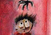 Fragmento de un dibujo de  Marcelo Tomé