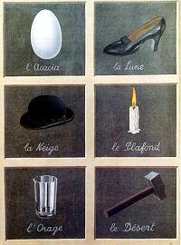 Imagen por René Magritte