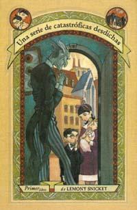 Portada de un libro de Lemony Snicket