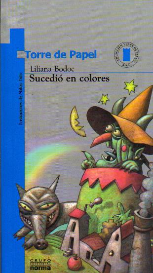 libros infantiles torre de papel